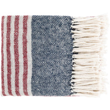 Load image into Gallery viewer, Nantucket Throw Blanket - Letty Blu