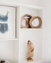 Load image into Gallery viewer, Wooden Mirrors Set - Letty Blu