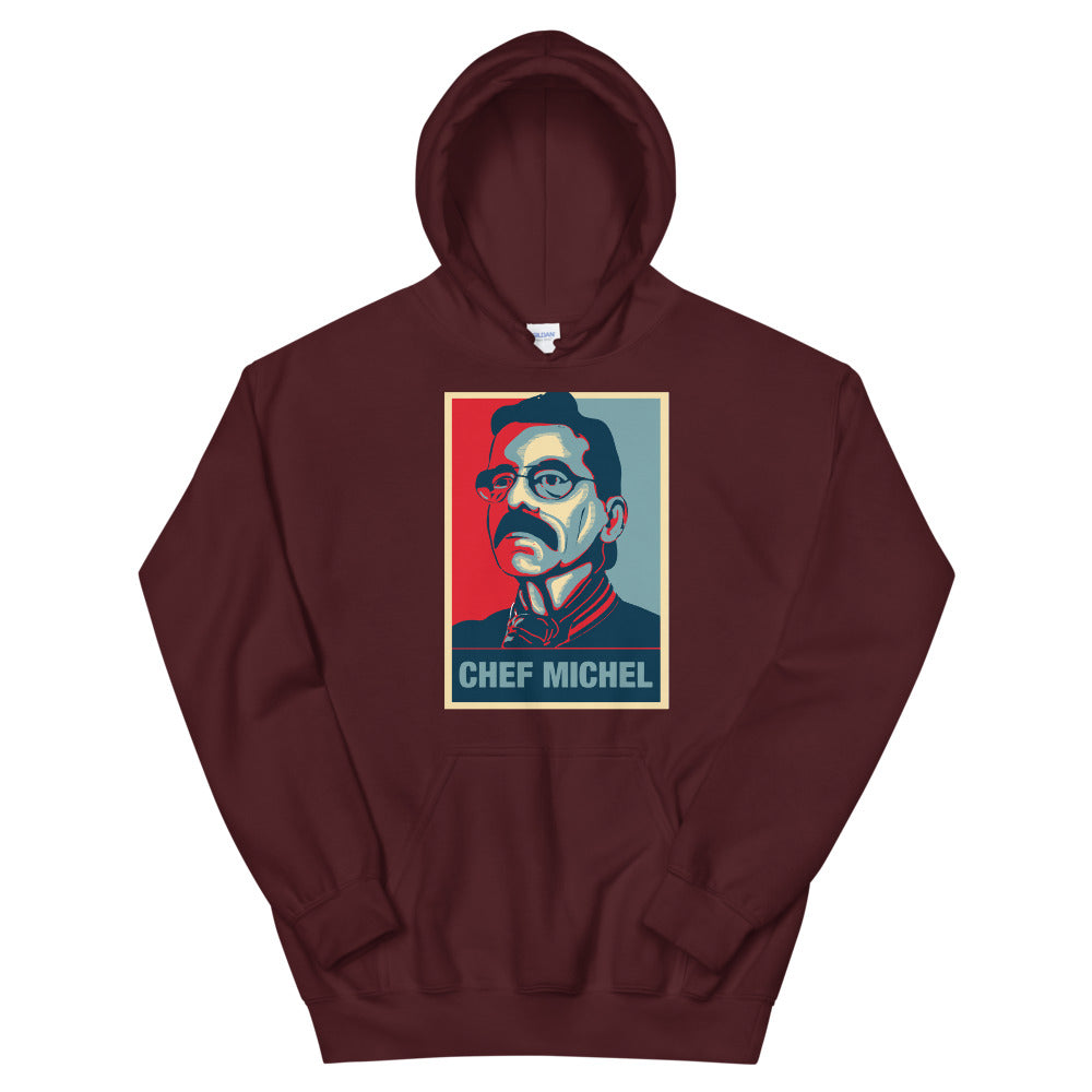 "Hoodie ""Révolution Culinaire"" Rouge"