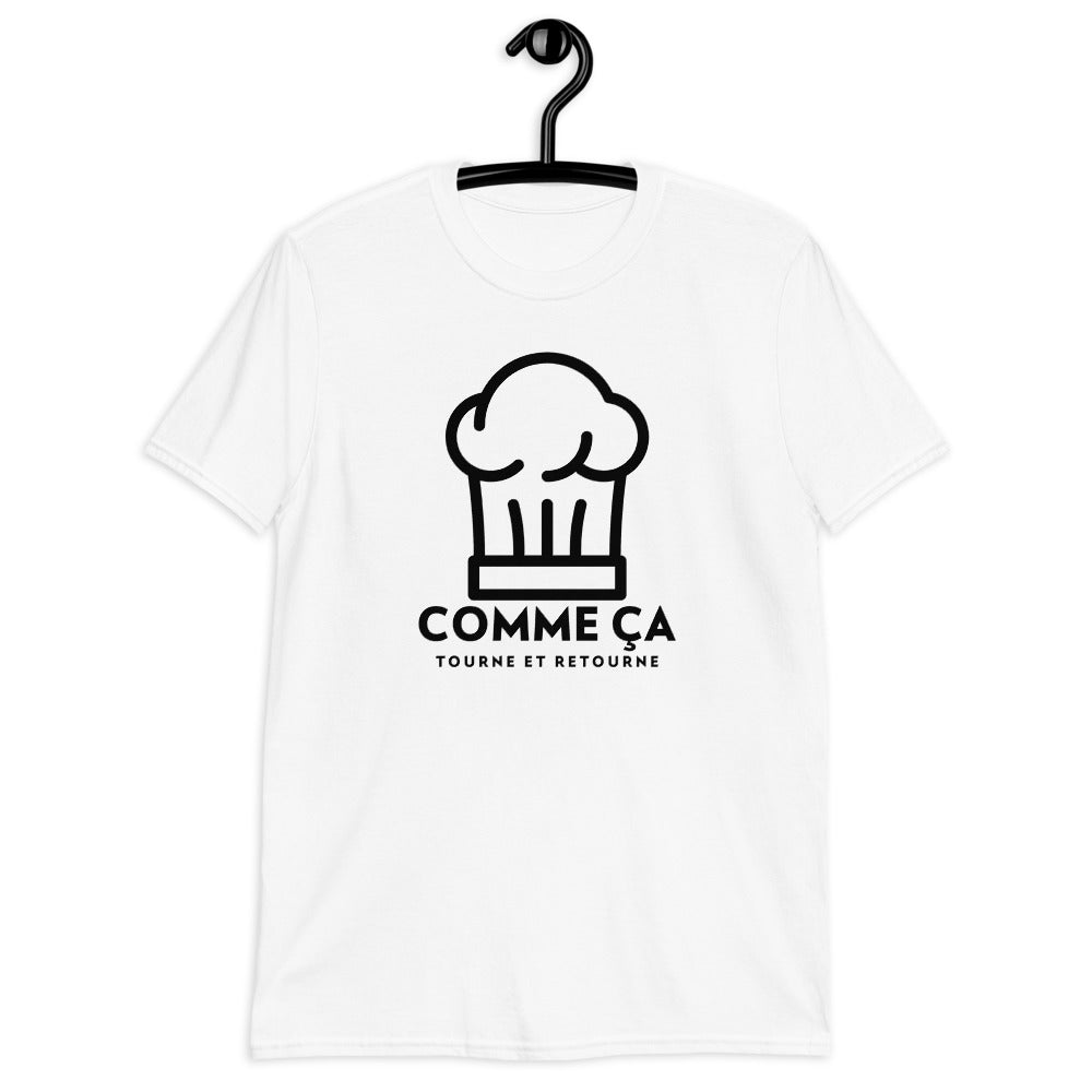 "T-Shirt ""Toque"" Blanc"