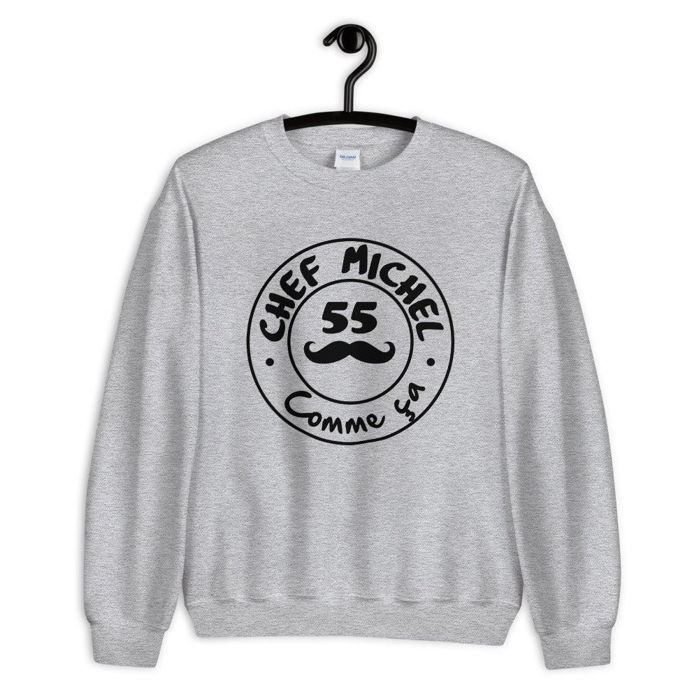 "Pull ""Chef Michel"" Gris"