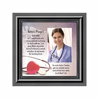Nurses Prayer, Personalized Picture frame for Nurses, Great Gift of Appreciation for Special Nurses, 10X10 6797B