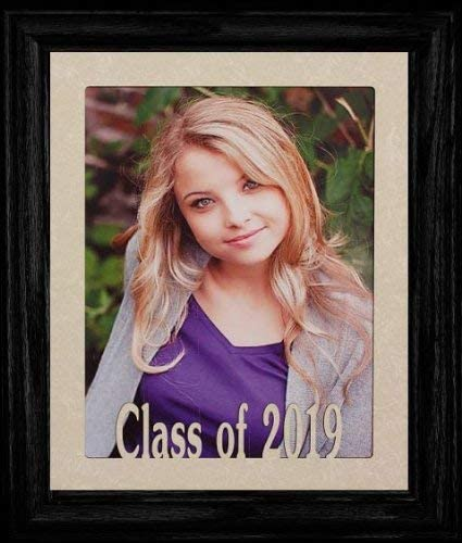 8x10 Personalized Class of 2020 (or Any Year) Portrait Senior/Graduate School Picture/Photo Keepsake Frame ~ Your Choice of Frame Color!