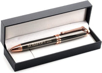 Achieve Your Dreams Luxury Gift Pen - Engraved Executive Business Pen for Professional Man Woman - Inspirational Motivational Business Quote Gift Idea for Graduation Corporate Appreciation Gift