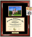 Diploma Frame Auburn University School Campus Photo Graduation Graduation Gift Idea Engraved Picture Frames Engraving Large Personalized Document Graduate Graduate Degree