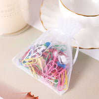 handrong 100pcs Organza Gift Bags Drawstring Gify Bags Jewelry Candy Chocolate Mesh Pouches Wedding Party Bridal Baby Shower Birthday Engagement Christmas Holiday Favor, 5 x 4 inch