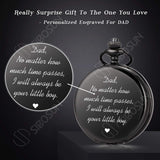 SIBOSUN Graduation Decorations 2020, Graduation Gifts for Him College or High School, Graduation Party Supplies Personalized Pocket Watch Engraved
