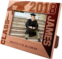 Class of 2019 Personalized Picture Frames for Graduation Gifts, University Name - Gift for High School or College Graduate Gift
