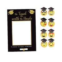 1 Set Graduation Photo Props Lightweight Paper Graduation  Props Photo Frame For GraduationDecoration Event Party Photograph