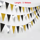 4M Black Gold Round Banner Graduation 2020 Party Decoration Gift Graduation Photo Booth Props Class of 2020 Photobooth Supplies