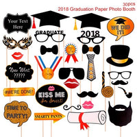 HUIRAN Photobooth Accessories Photobooth Props Souvenir Graduation Party Decoration Graduation Gift Back To School Supplies