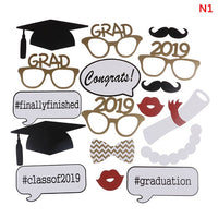 1 Set Of Graduation Ceremony Party Photo Props Paper Photo Frame Graduation Photo Frame