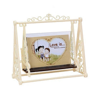 5inch Frame Durable Vintage Swing Picture Holder Photo Frame Home Office Decoration Home Decor Graduation Party Photo