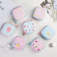 Baby Souvenirs Summer Coin Purse Cute Headset Bag Wedding Gifts for Guests Kids Bridesmaid Gift Party Favors Present Supplies