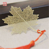 Wedding Gifts Metal Maple Leaf Bookmark Leaves Book Markers Back To School Party Favors for Guests Festival Party Gifts Souvenir