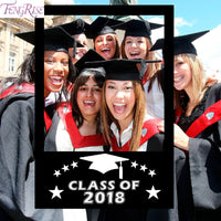 FENGRISE Graduation Party Decoration 2018 Photo Booth Props Graduation Props Class of 2018 Photo Frame Graduated Party Supplies