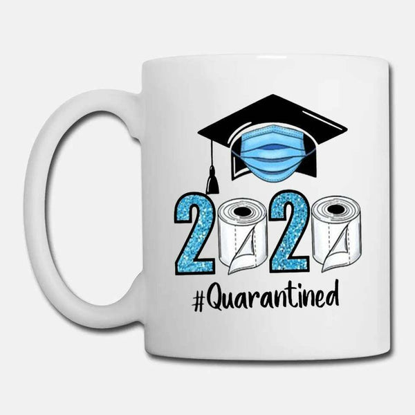 Senior 2020 Class of 2020 Quarantined 2020 Mug Gift Graduation Mug 11oz