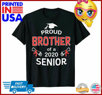 Proud Brother Of a 2020 Senior Shirt Graduation 2020 Gift TShirt