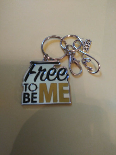 "2020 Graduates Perfect Gift. A Free To Be Me Keychain With. A ""2020"" Charm."