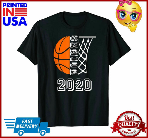 Graduate Senior Class 2020 Graduation Basketball Player Gift TShirt