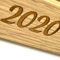 Graduation 2020 Engraved Wooden Photo Frame Gift FW396