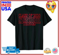 Funny Senior Things Class of 2020 Graduate Gift TShirt