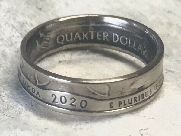 2020 Us Quarter Ring Handmade Great Graduation Gift!