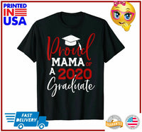 Proud Mama Of A Class Of 2020 Graduation 2020 Senior Gifts TShirt