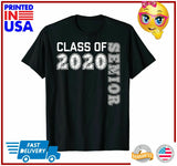 Graduation 2020 TShirt Class Of 2020 T Senior Gift Shirt