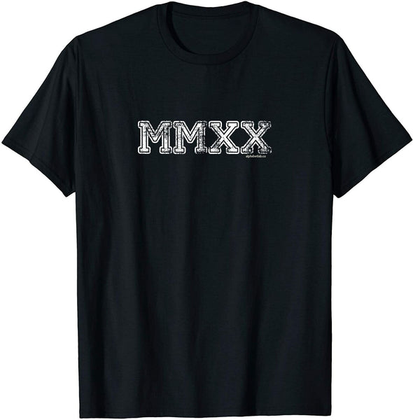 2020 Shirts MMXX | Senior Class of 2020 Graduation Gifts Vintage Men Gift Tee