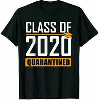Class of 2020 Quarantined Graduation Senior Quarantine Gifts T-Shirt