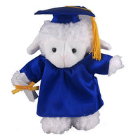 Customized graduation plush bear for her 2020 I love you gift Box Sheep 12""