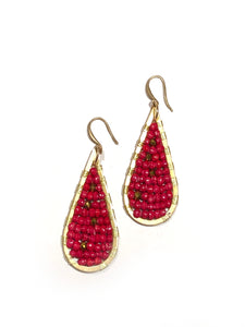 Teardrop Earrings, Small