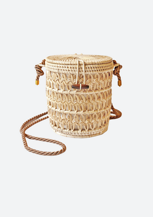 Natural PATAGA Bag with Black Cord