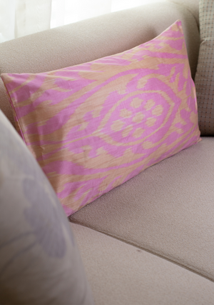 Large Cushion Cover in Pink