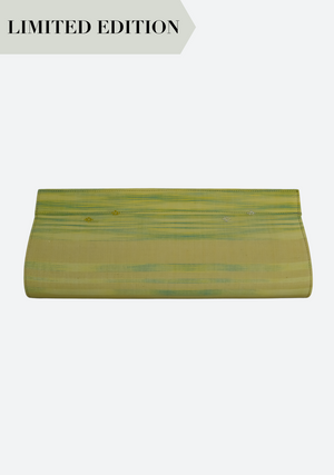 Tenun Long Clutch in Yellow and Green