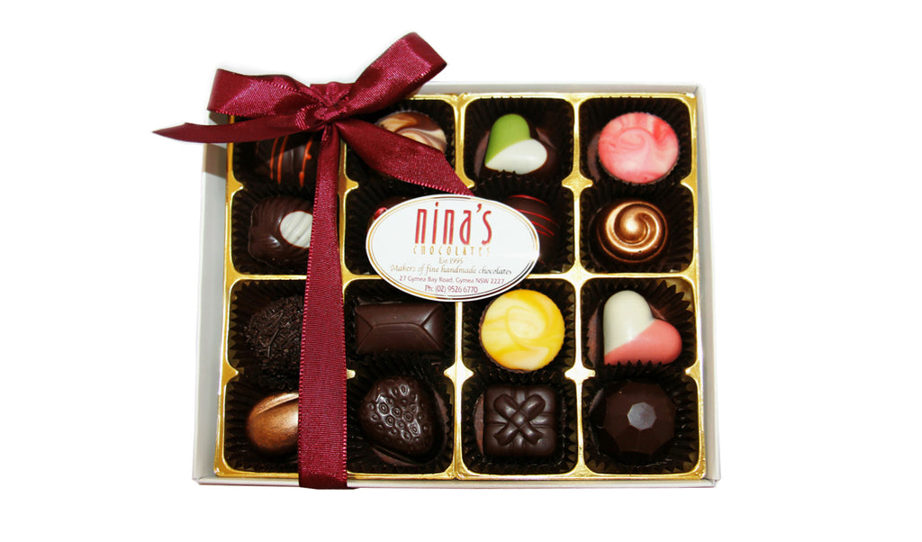 16pc Dark Chocolate Box 200g