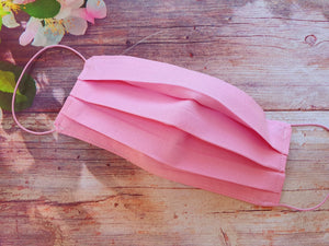 Handmade Reusable Face Mask Pink