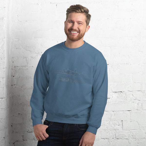 Ghost Skyline Sweatshirt