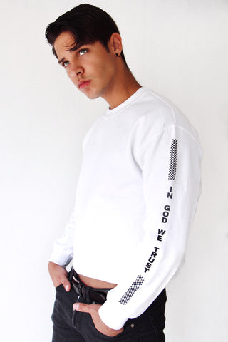 In God We Trust Cropped Crewneck