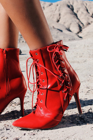 Elisabeth Lace-Up Boot