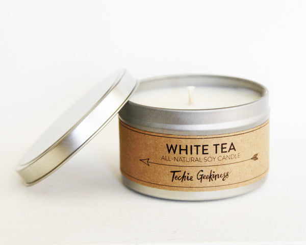 White Tea Candle