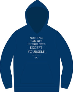 Blue Major Pain Quote Hoodie