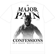 Load image into Gallery viewer, White Major Pain T-Shirt