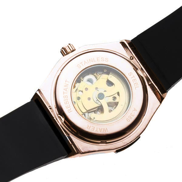 Fate Skeleton Automatic Rose Gold