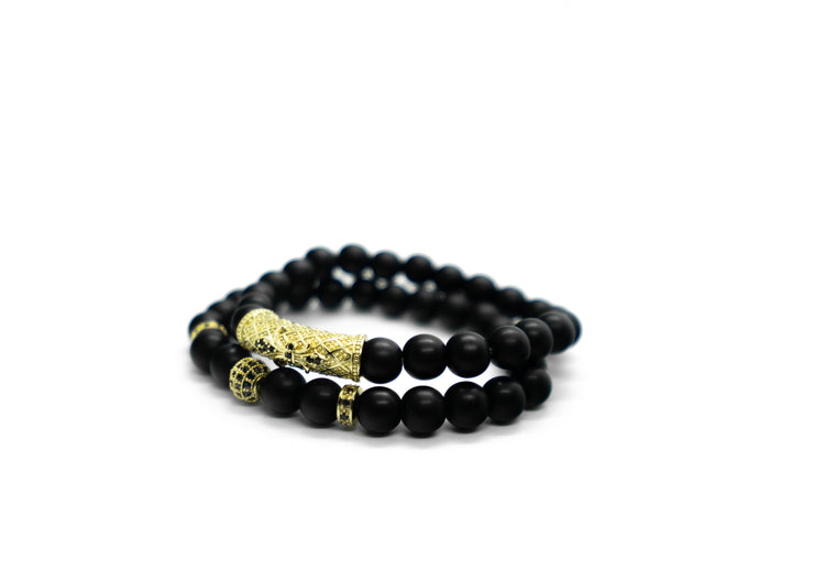 Empire Black/Gold Bracelet