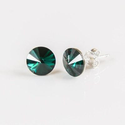Turquoise Swarovski Elements Earrings