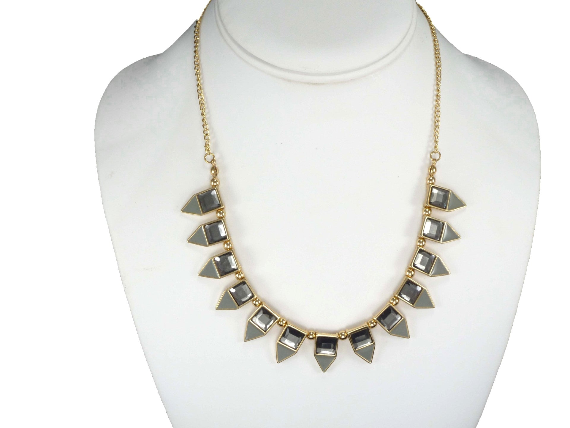 Smoky Spike Necklace