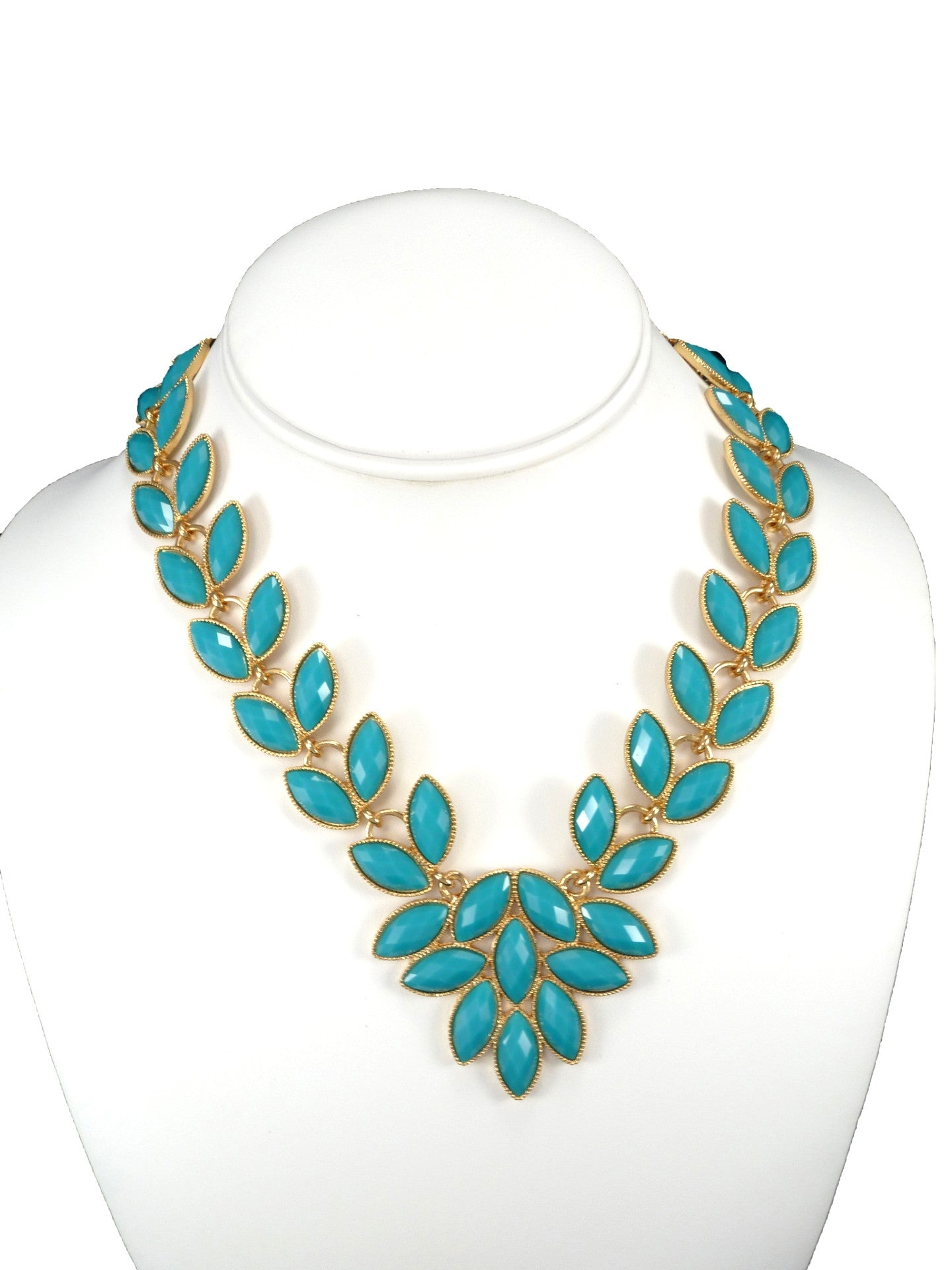 Turquoise Petal Necklace from Vanett