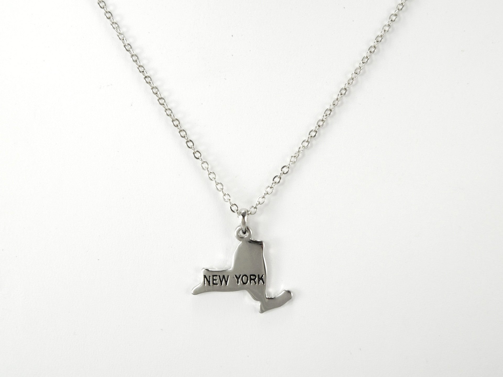 New York Silver Necklace